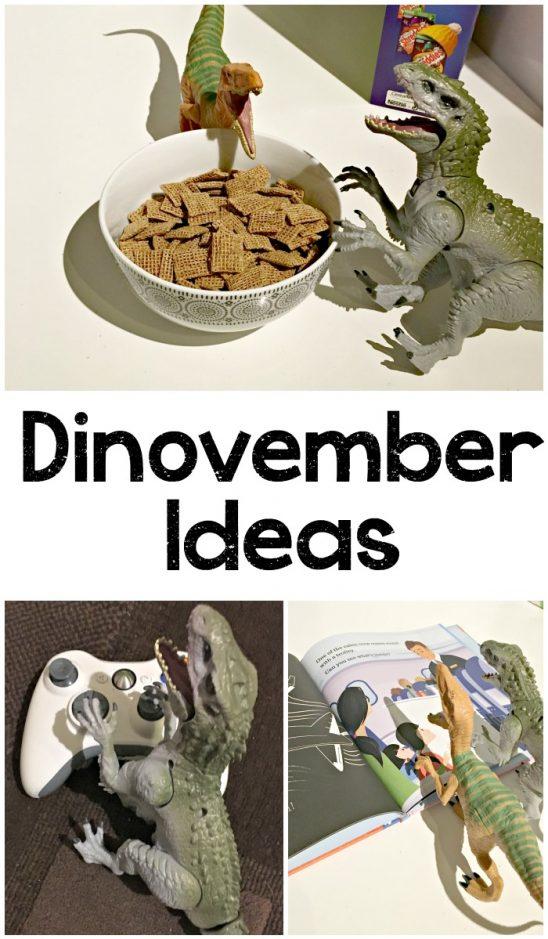 Jurassic World and Dinovember