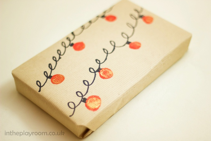 Homemade Christmas wrapping paper_-43