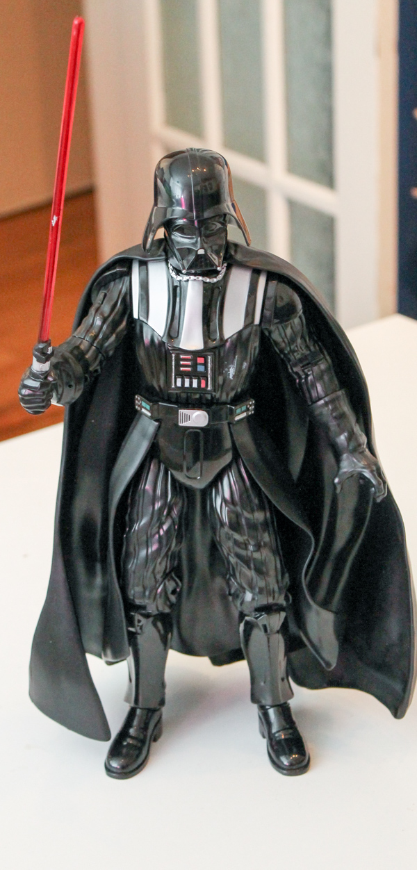 star wars talking darth vader figure  and star wars toys at the disney store