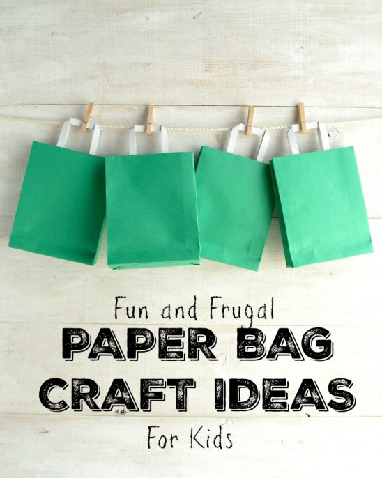 Fun and Exciting Paper Bag Crafts for Your Kids