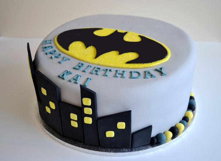 Batman Birthday Cake Designs
