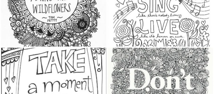 inspirational-quotes-colouring
