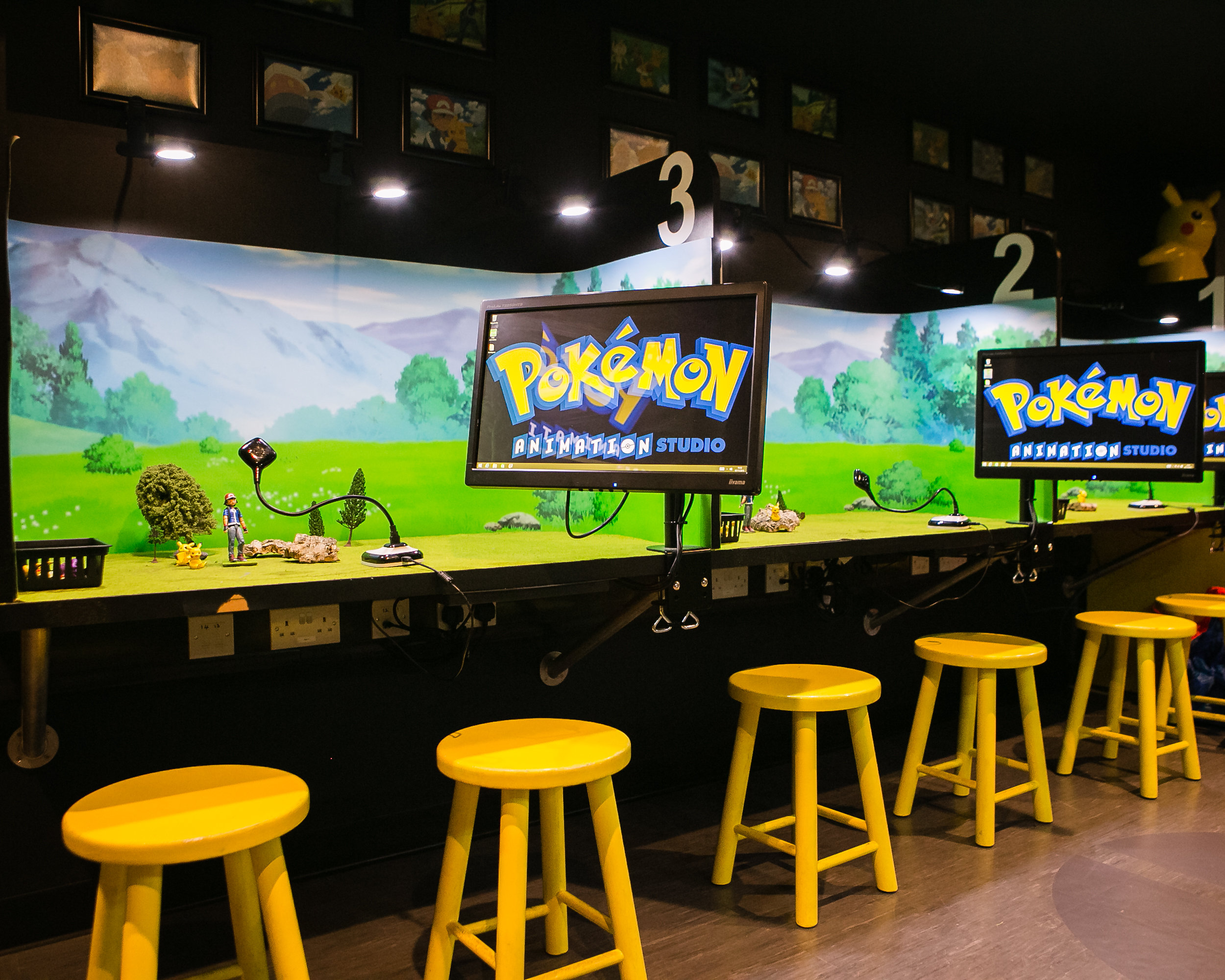 New Pokemon Animation Studio at KidZania London