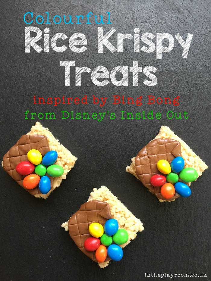 Colourful Rice Krispy Treats
