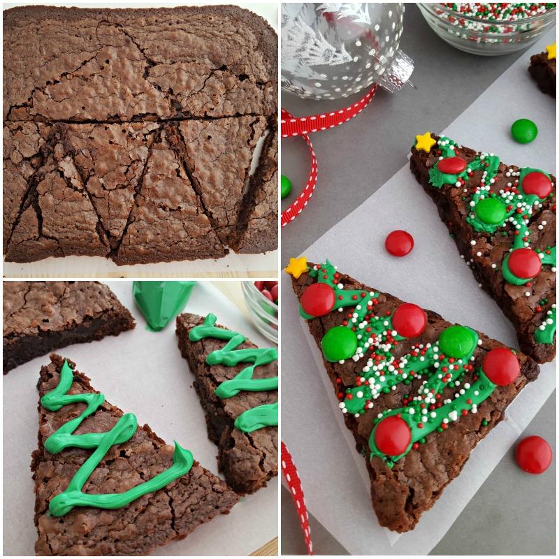 Christmas Tree Brownies - In The Playroom - photo#2