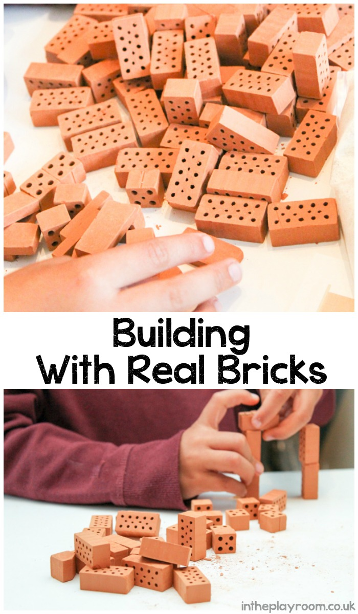 Building with Real Bricks, with Kids Can Kits