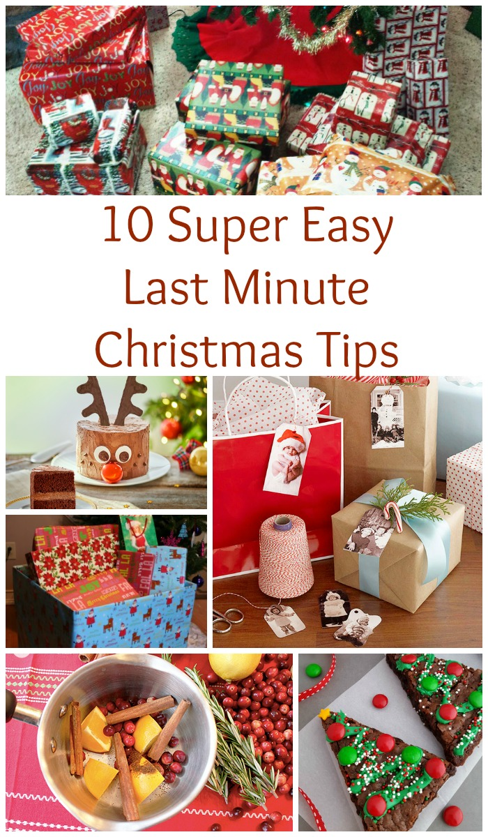 10 Super Easy Last Minute Christmas Tips