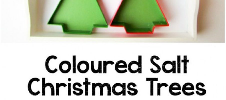 Coloured-Salt-Christmas-Trees-Activity