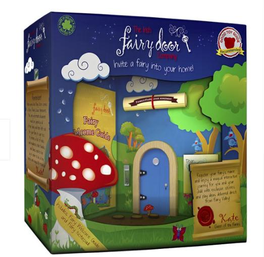 Advent giveaways day 3 irish fairy doors in the playroom for Irish fairy door uk
