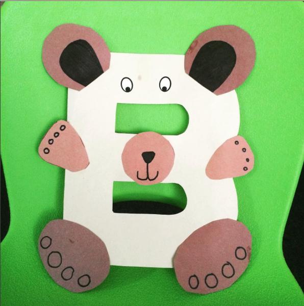 LetterB-Bear
