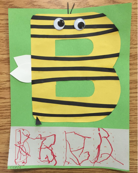 Alphabet Crafts for Kids: Letter B