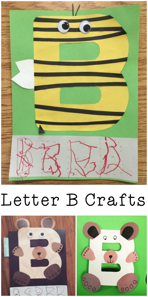 letter b crafts alphabet crafts for letter b in the playroom 2333
