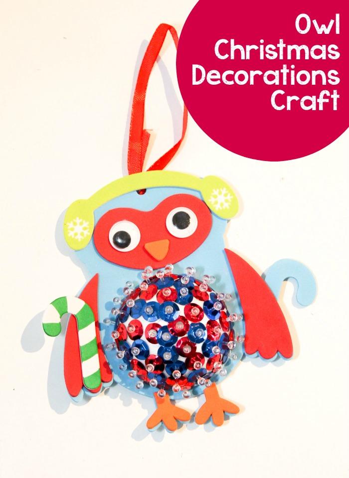 christmas owl decorations owl christmas decorations