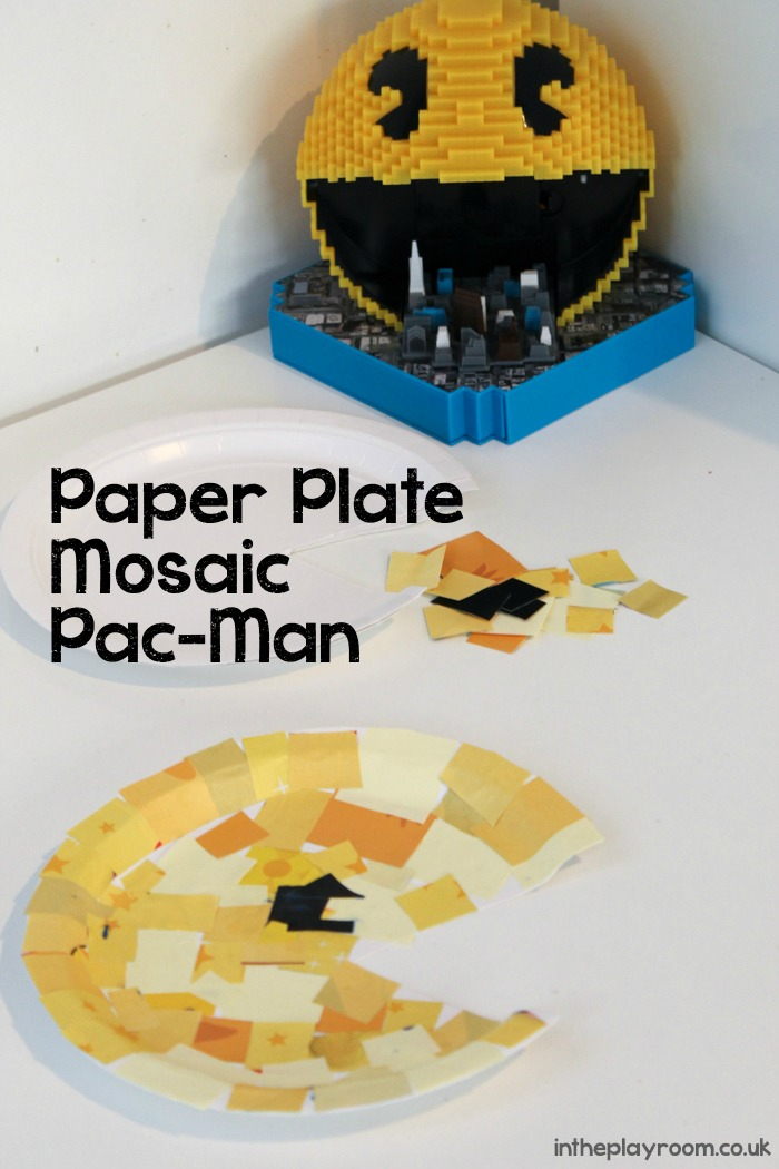 Paper-Plate-Mosaic-PacMan