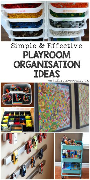15 Simple and Effective Playroom Organisation Ideas