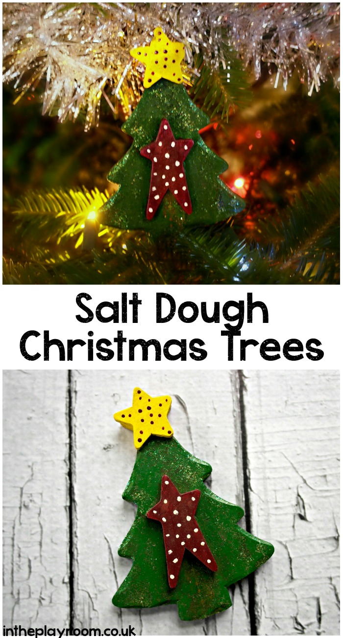 Salt Dough Christmas Tree Decoration - In The Playroom