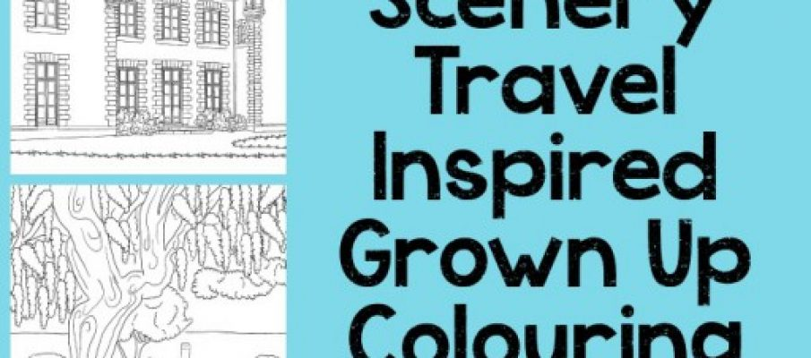 Travel-Colouring-Pages