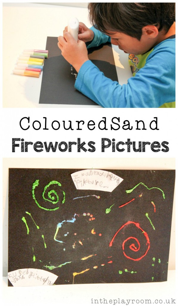 Coloured Sand Fireworks Pictures