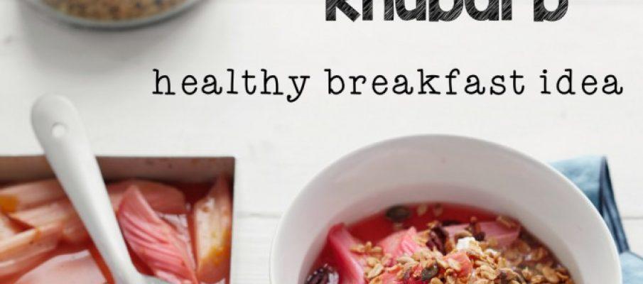 Granola-Rhubarb
