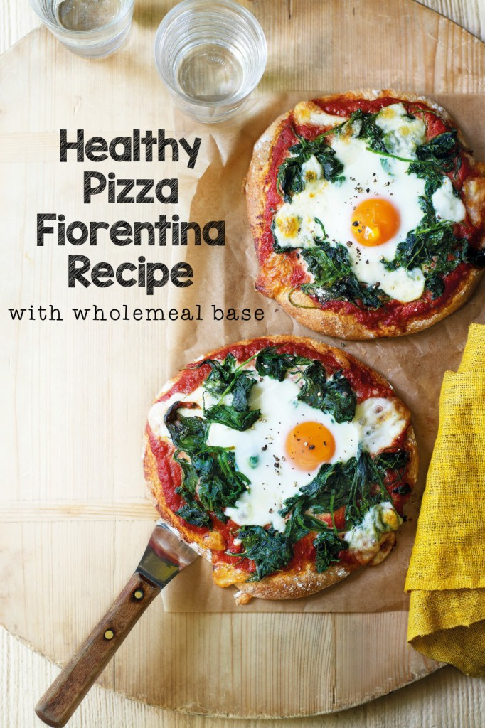 Healthy Pizza Fiorentina Recipe