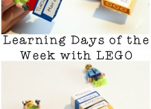 Learning the Days of the Week with Lego