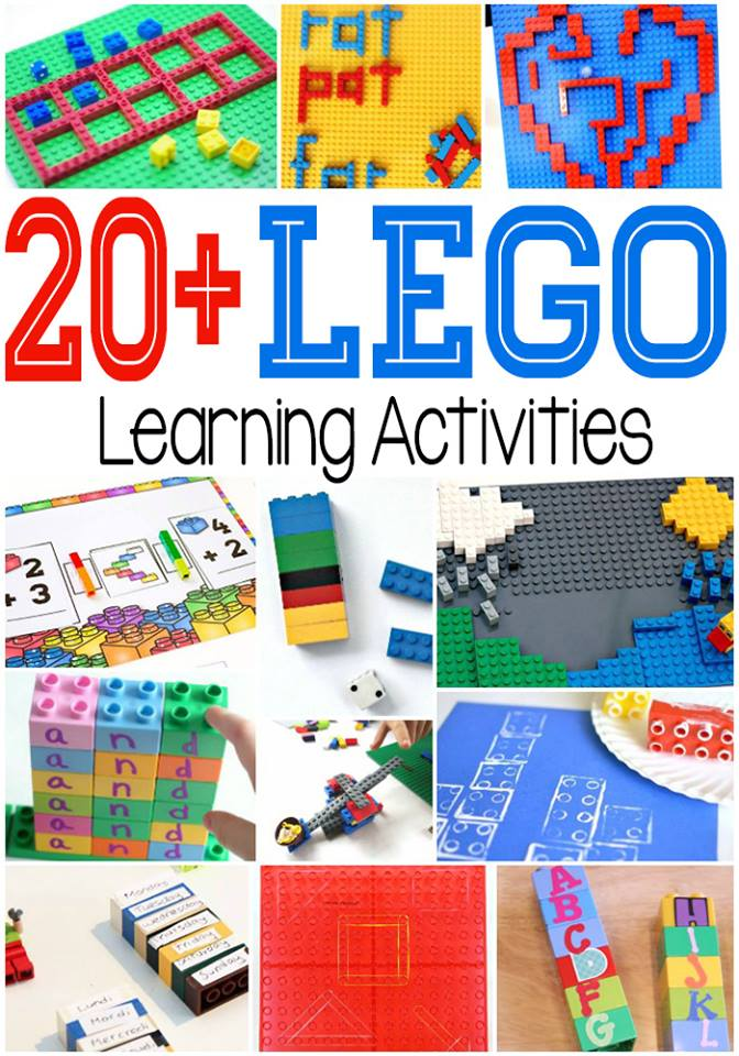 Learning the Days of the Week with Lego - In The Playroom