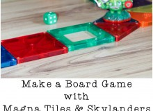 Make a Board Game with Magna Tiles
