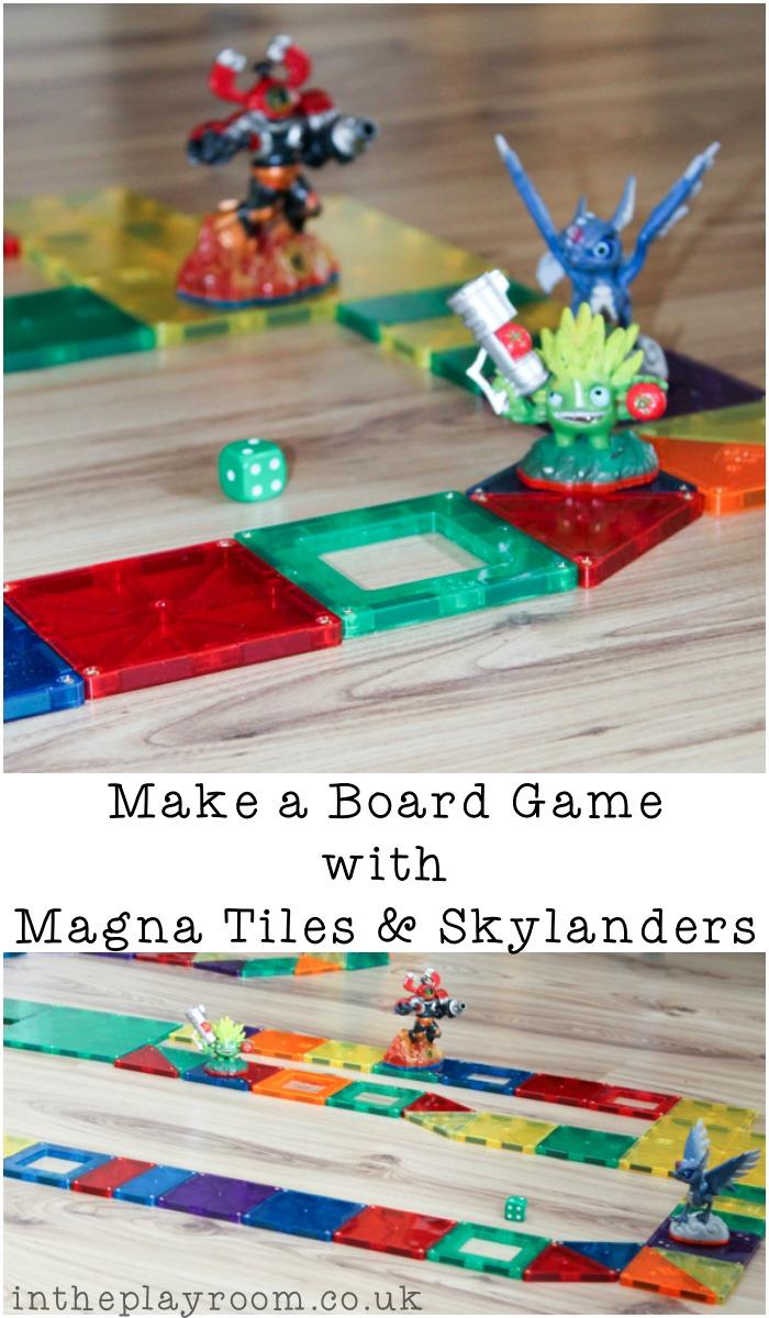 Make-a-board-game-magnatiles