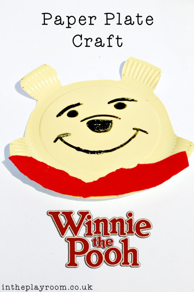 Paper Plate Winnie The Pooh