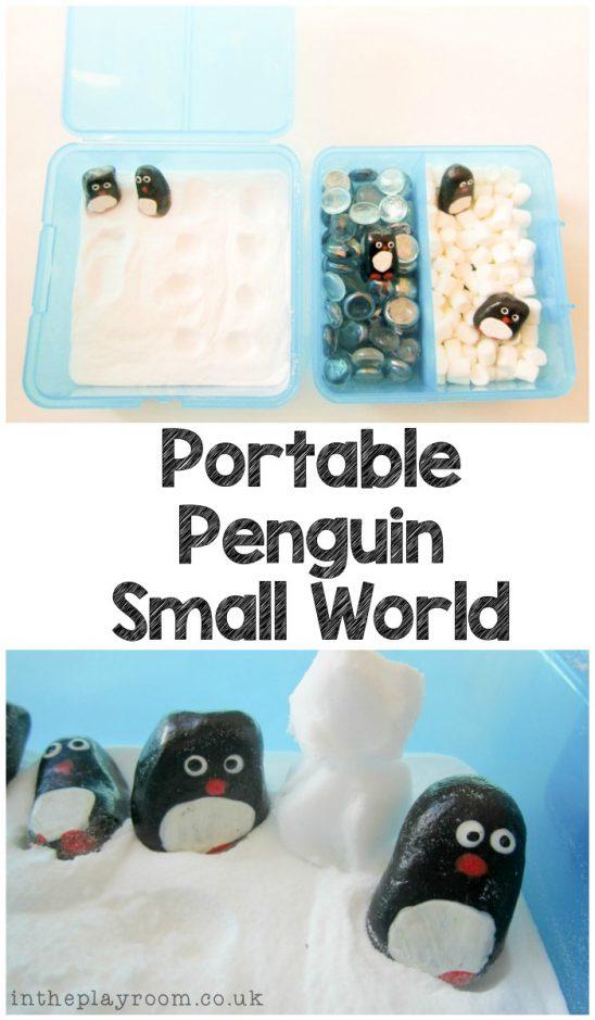 Portable Penguin Small World
