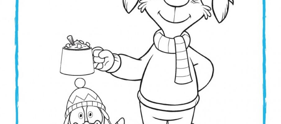 Pip Ahoy - Winter Colouring-page-001