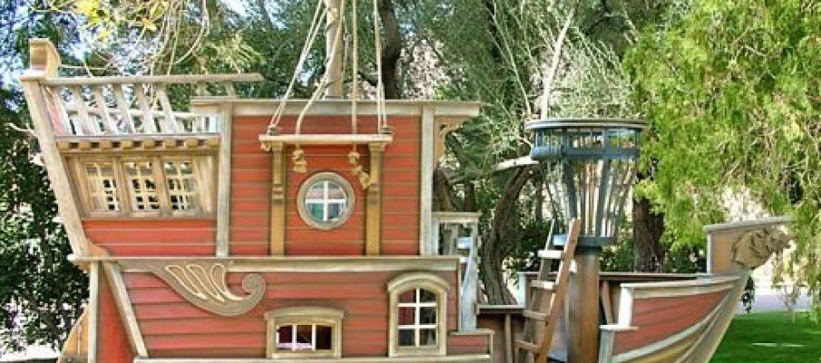 PirateShipPlayhouse
