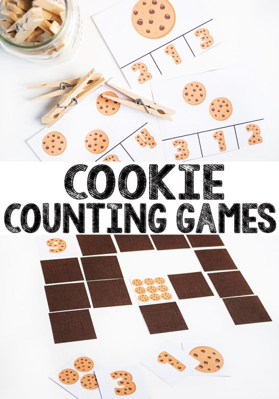 Cookie Counting Printable Game