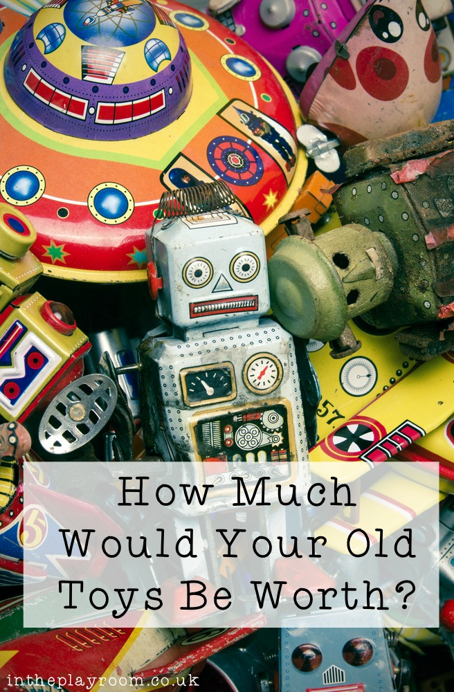 How Much Could Your Old Toys be Worth?