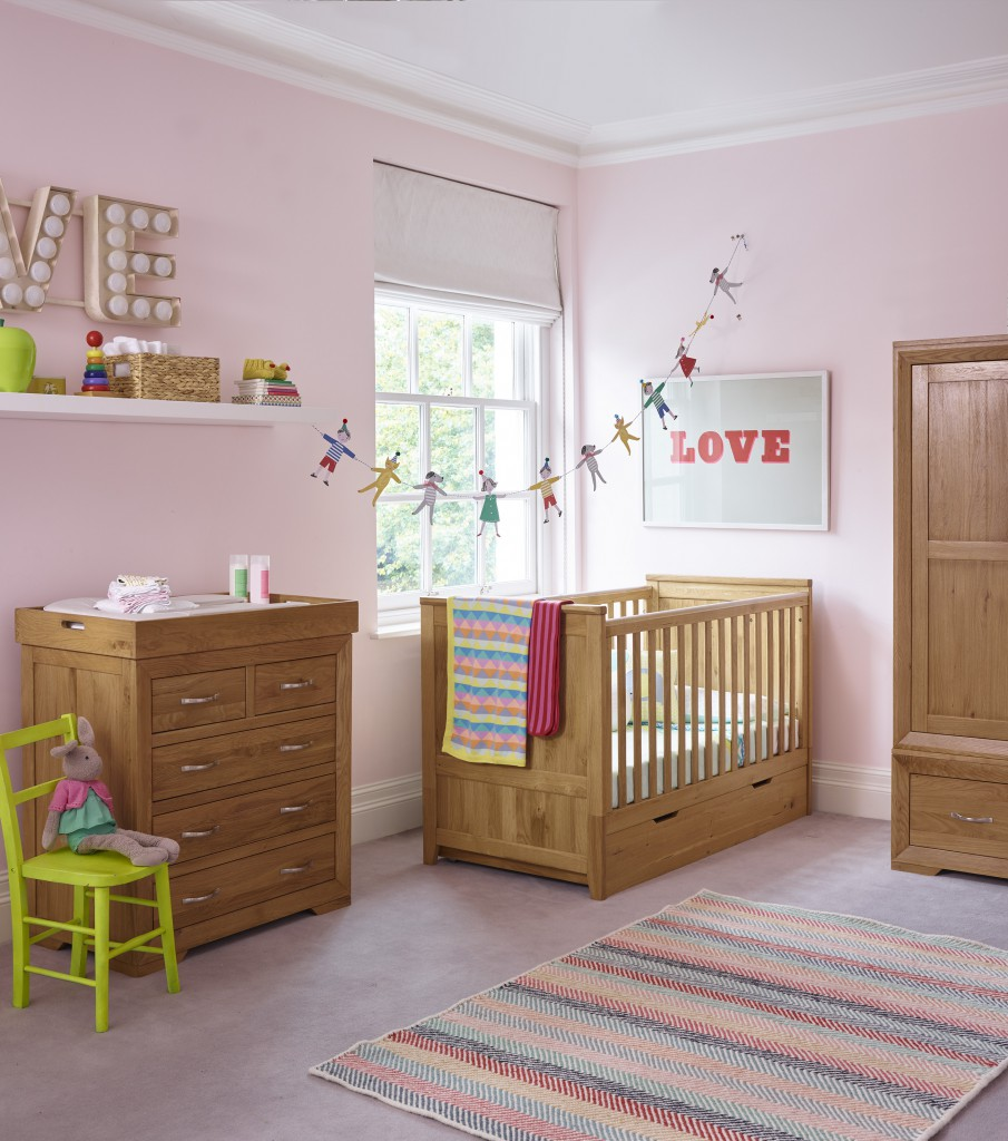 Win a £250 Voucher to Spend on the Nursery Range at Oak Furniture Land
