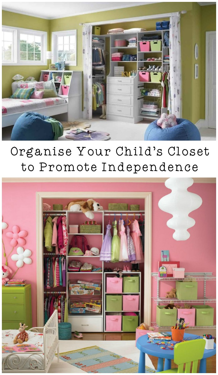 How to organise your children s closet so they can learn for Childrens closet