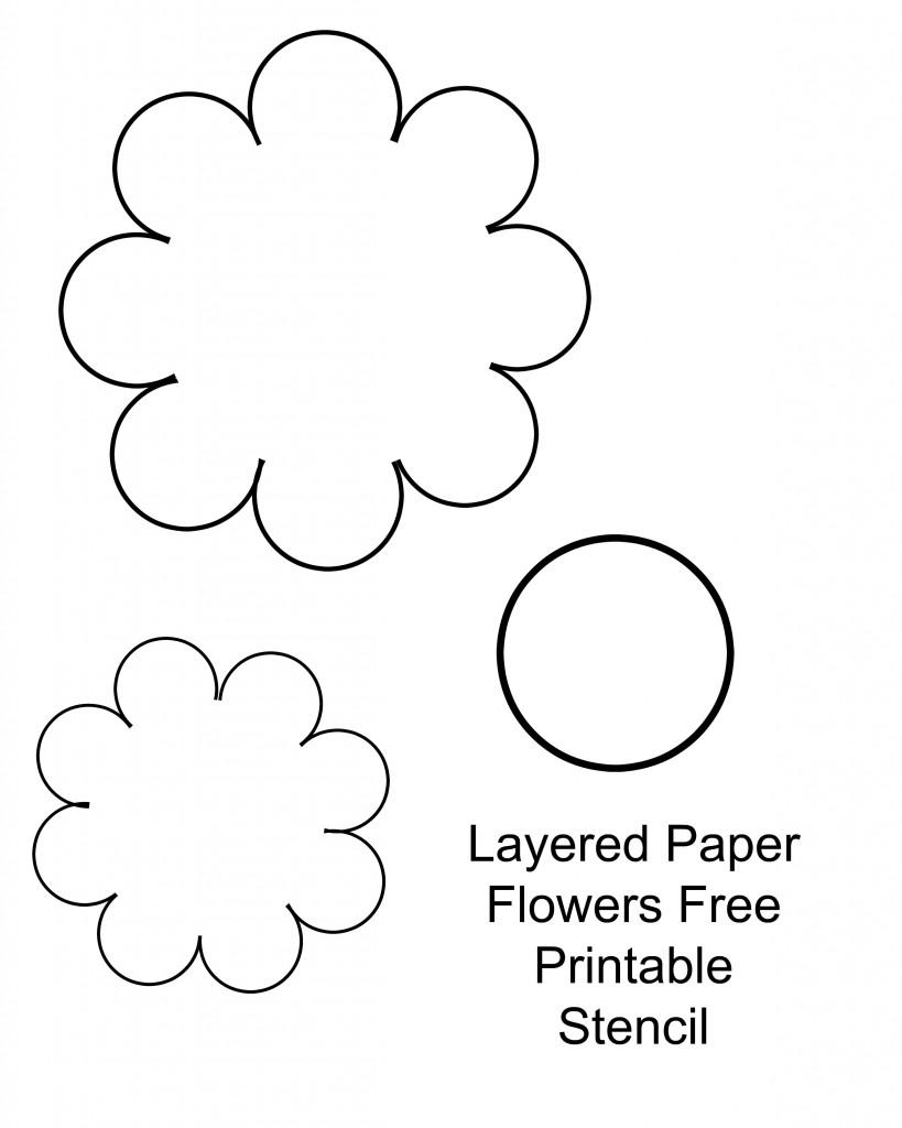 Crafty image pertaining to free printable flowers