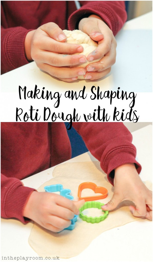 Making and Shaping Roti Dough with Kids