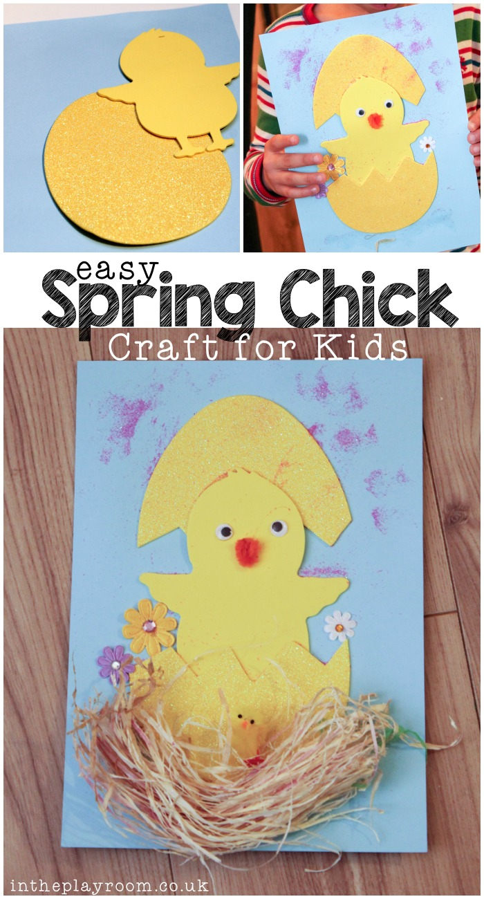Easy Spring Chick Craft