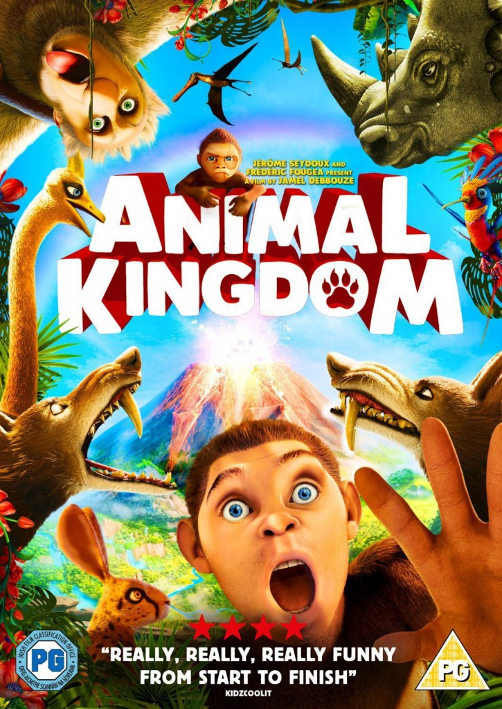 Animal Kingdom Colouring Pages and DVD Giveaway In The