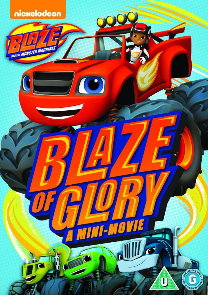 Blaze and the Monster Machines: Blaze of Glory, Colouring Pages and DVD Giveaway