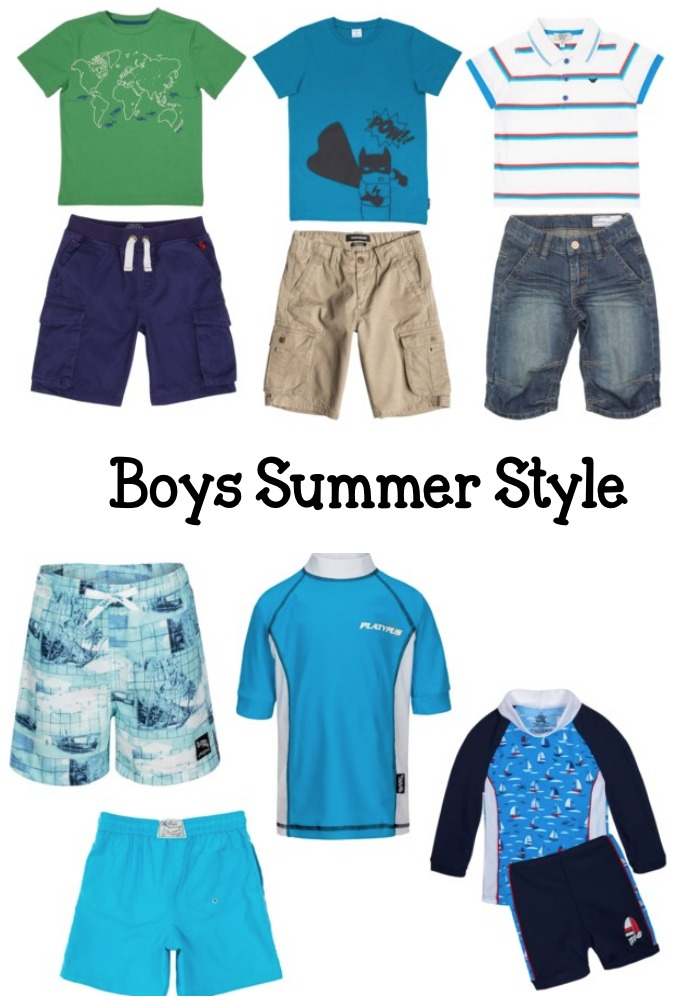 Kids Summer Holiday Outfits from House of Fraser