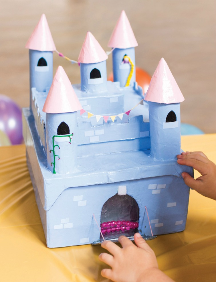 Secret Castle Trinket Box craft from The Princess Craft Book