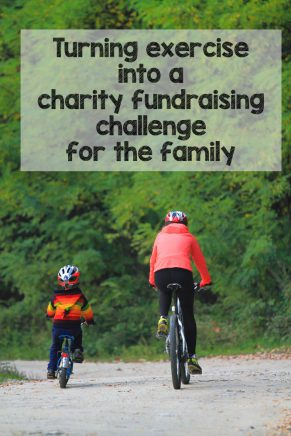Turning exercise into a charity fundraising challenge for the family this summer