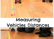 Measuring Vehicles Distances, STEM activity inspired by Blaze and the Monster Machines
