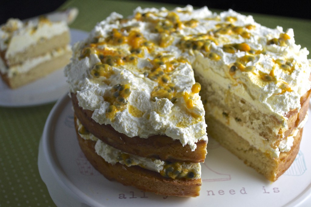 No-Junk Passionfruit Cake Recipe