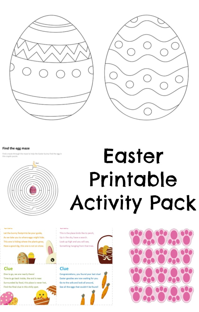 Free Printable Easter Activity Pack