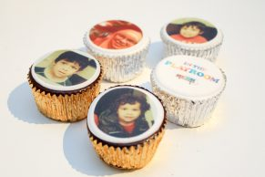 Personalised Photo Cupcakes from Cake Toppers