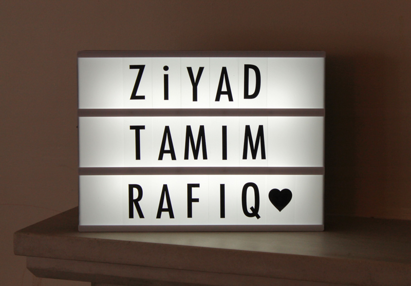 Customisable Cinematic Lightbox from Design55