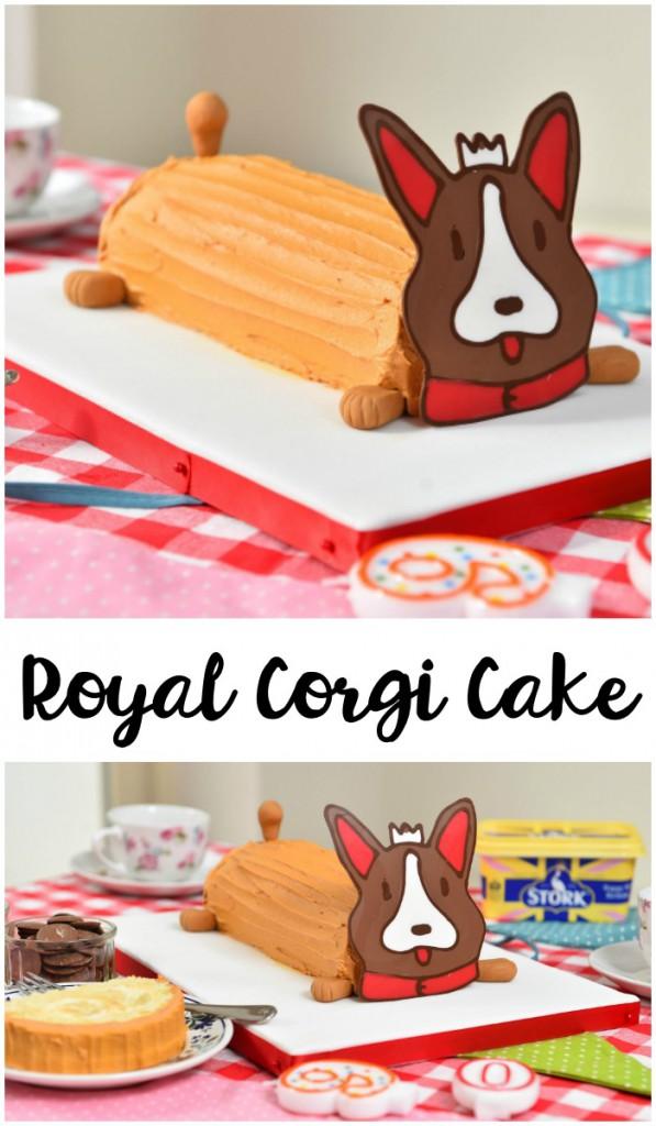 Corgi Cake